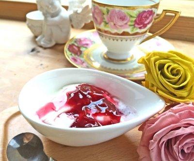 画像1: 薔薇づくしのティータイムセット【ローズリーフ®&ローズコンフィチュール】