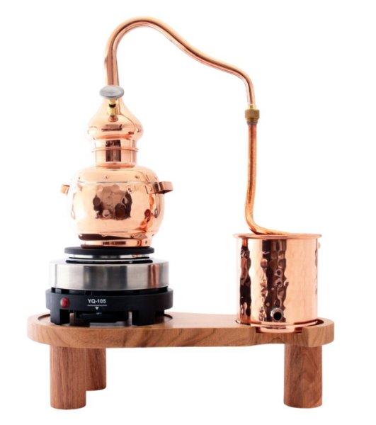 画像1: 家庭用 水蒸気蒸留器「基本セット」使いやすいミニサイズ【ローズウォーターやフローラルウォーター作りに最適】 (1)