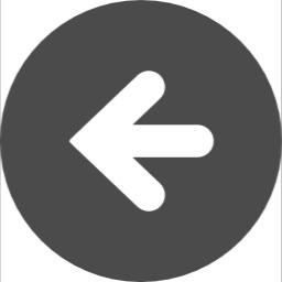 アイコン矢印左むき
