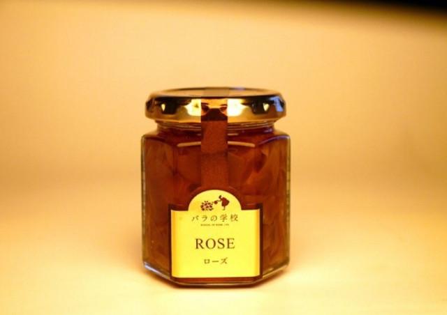 【株式会社バラの学校】では食用バラを使った加工品の販売も行っています